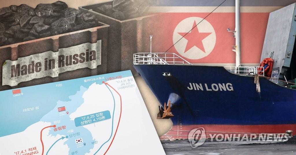 详讯:韩三家进口商被查实非法运入朝鲜煤铁