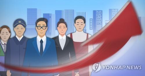 详讯:韩7月就业人口同比增29.9万人 失业率3.9%