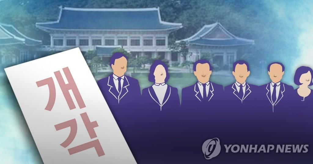韩内阁今或改组 换五六个部长
