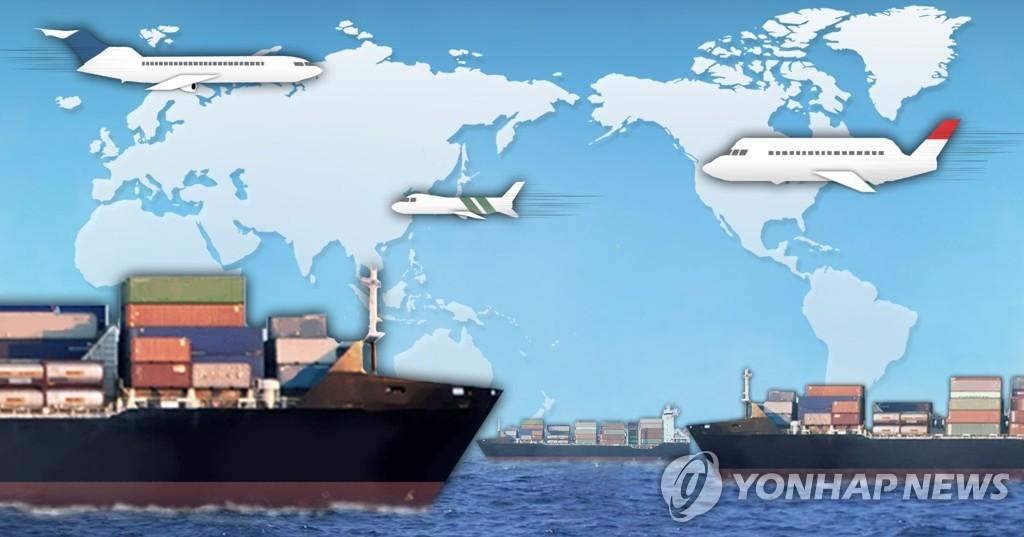 韩11月前20日出口同比增长5.7% - 2
