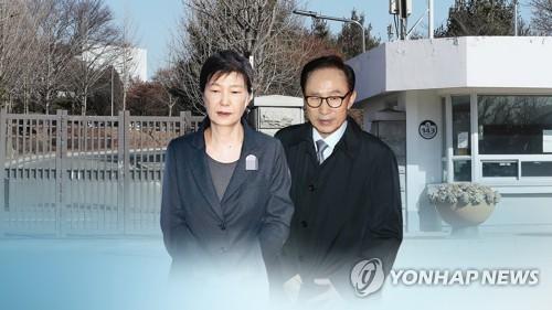 韩国又现两名前总统同在狱中局面