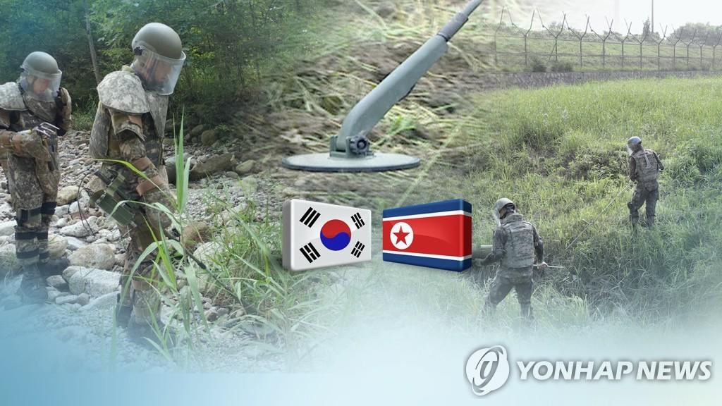 韩军统计:全境埋有逾80万枚地雷