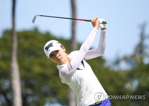 韩裔高球手莉迪亚·高获LPGA乐天锦标赛冠军