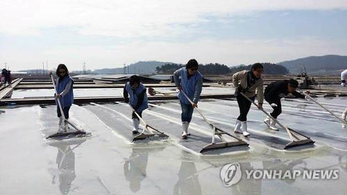 韩国海盐短缺致价格飙升