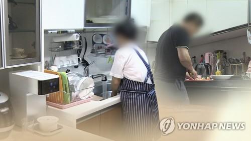 调查:韩逾七成外籍妻子全包家务