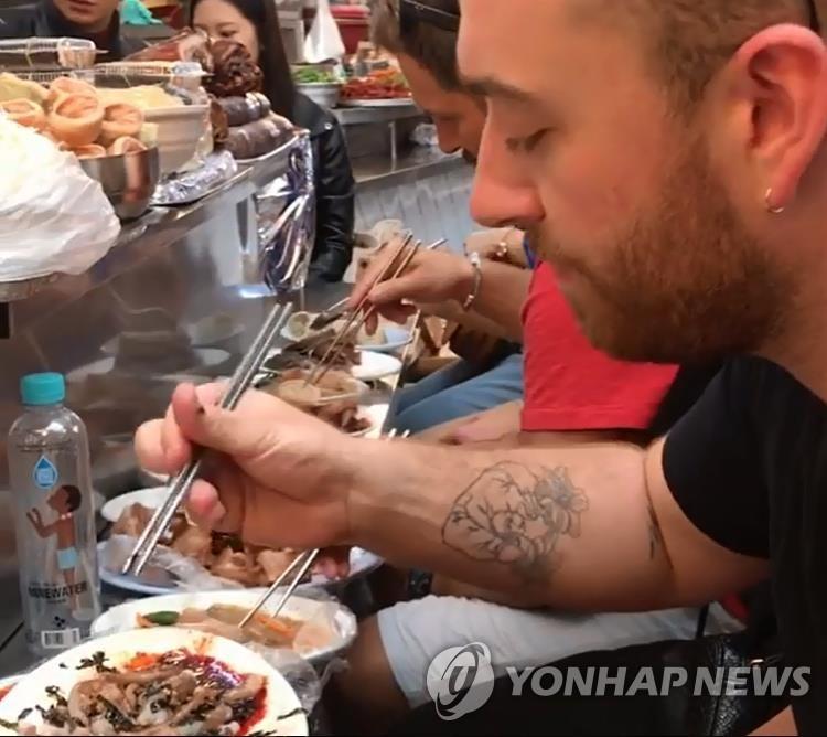 调查:活章鱼为外国游客最想品尝的韩国特色美食