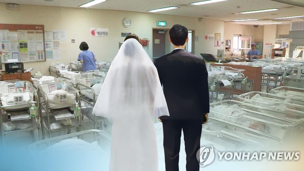统计:韩涉外家庭新生儿占比5.5%创新高
