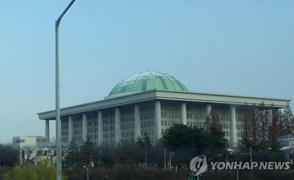 资料图片:韩国国会 韩联社