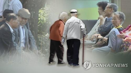 调查:韩国空巢老人占比近八成