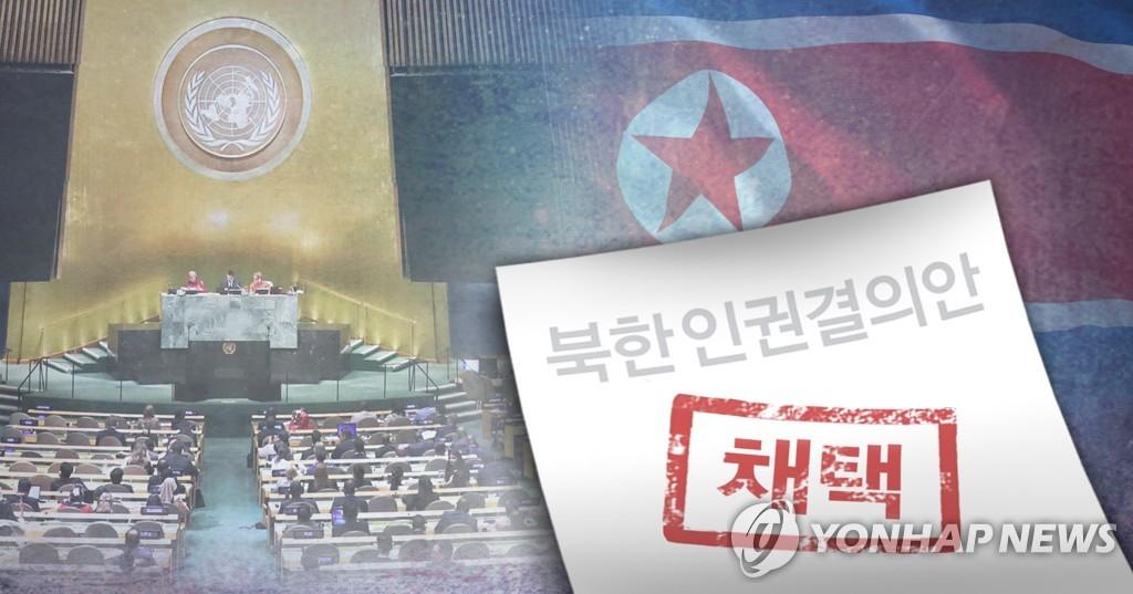 朝媒谴责韩国支持联合国通过朝鲜人权决议