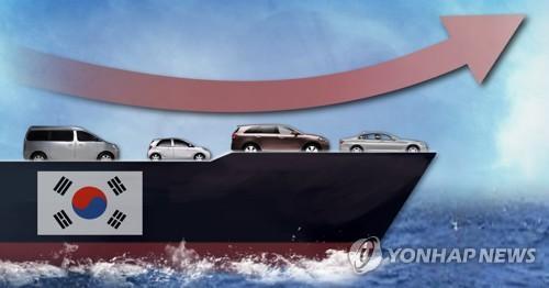 韩上半年汽车出口额创七年来新高