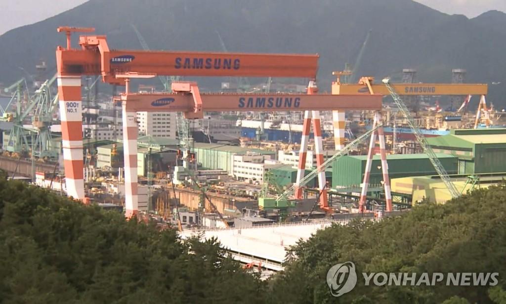 韩2月造船厂订单量全球占比67%位居第一