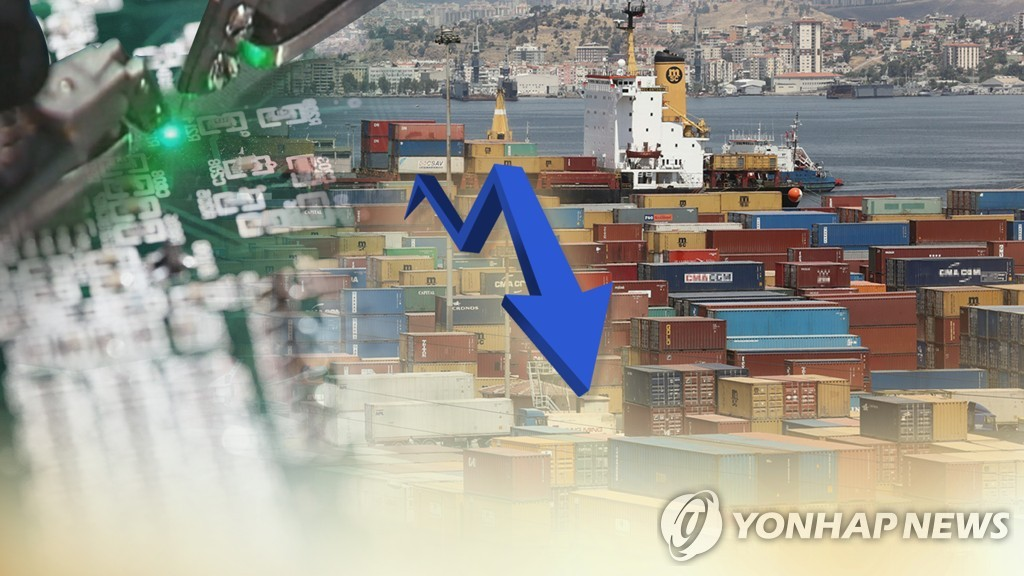 韩国3月出口同比减8.2%