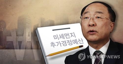 韩政府拟补充394亿元预算抑尘治霾改善民生