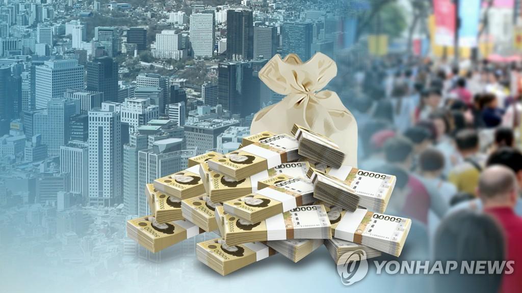 明年韩国人均赤字国债同比增18%