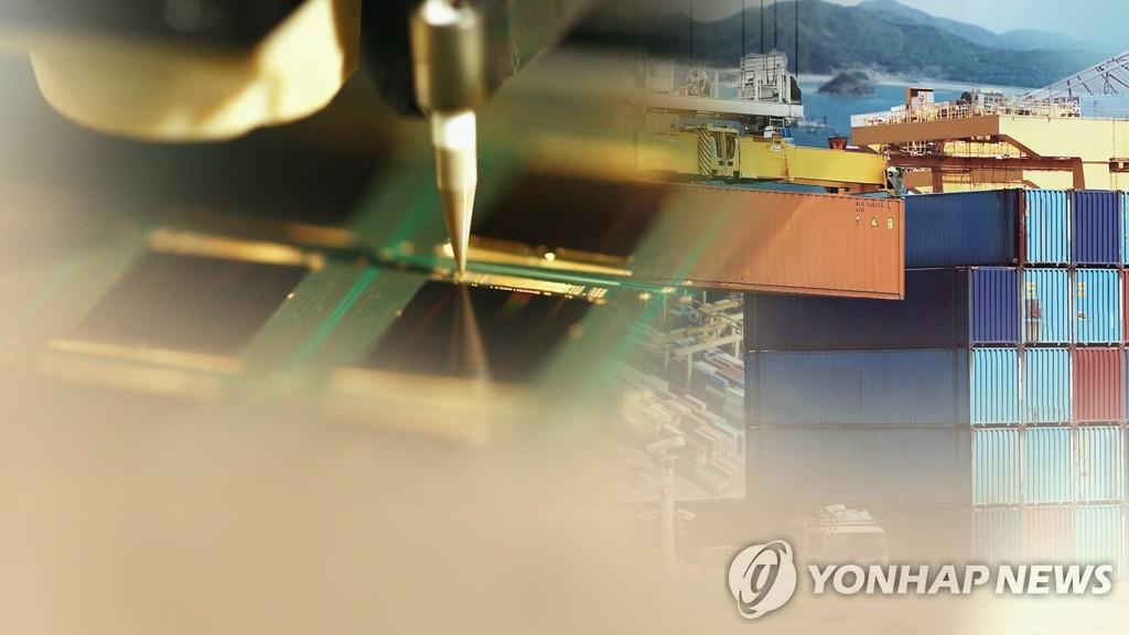 调查:韩高科技出口偏重半导体和对华出口