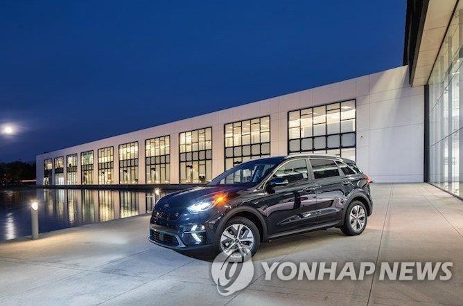 资料图片:起亚尼罗EV 韩联社/Hybrid Cars官网截图