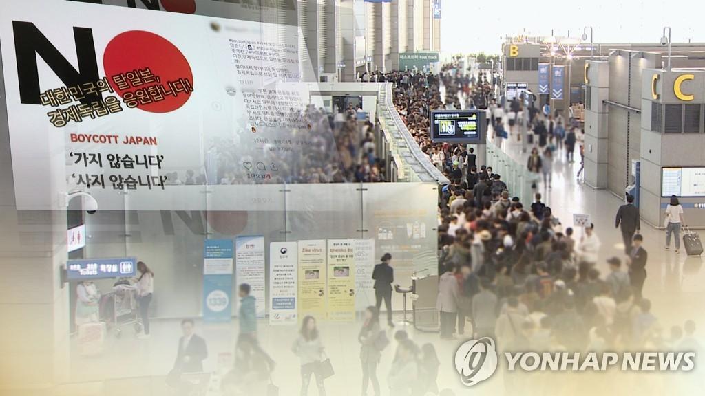 反日情绪升温致韩国赴日旅游需求骤减 - 1
