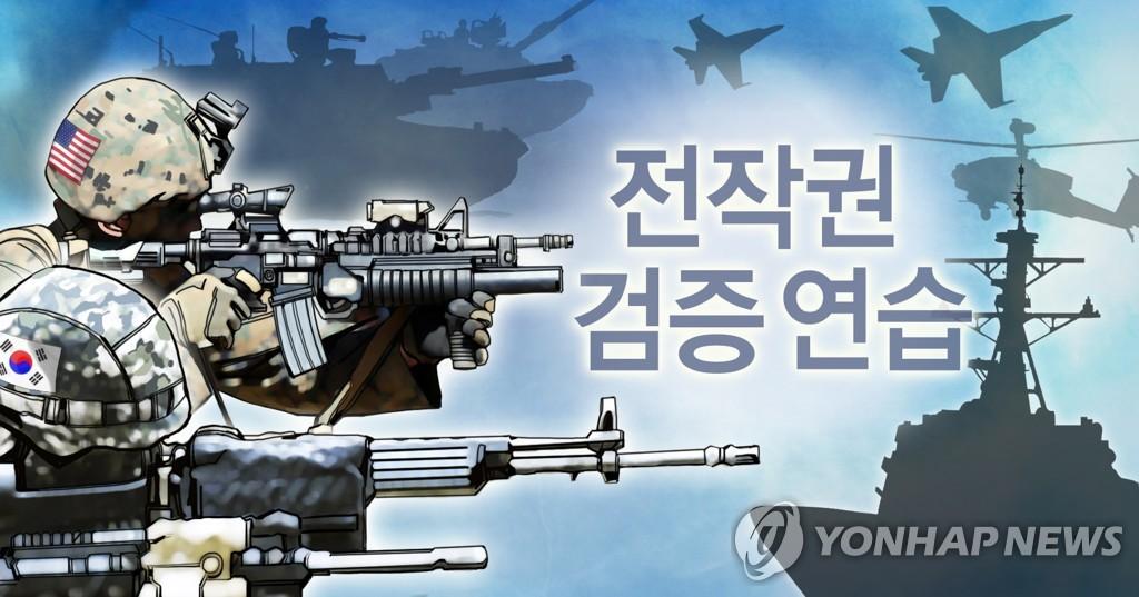 韩美启动下半年联合演习 - 1
