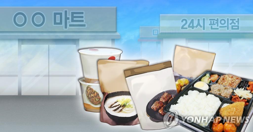 疫情下韩国方便食品搜索量大增