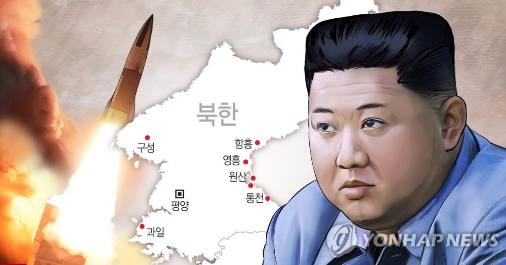 详讯:朝媒称昨射新武器 金正恩现场指导试射 - 1