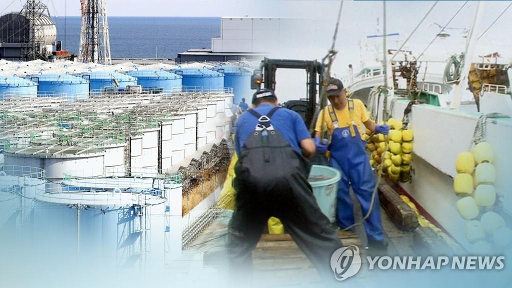 韩国对福岛压舱水进行核辐射检测