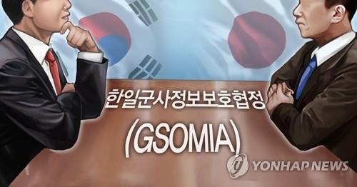 简讯:韩青瓦台决定停止韩日军情协定终止通知效力