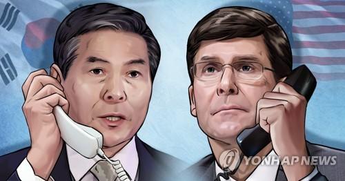 韩美国防高层下周对话 或谈韩日军情协定