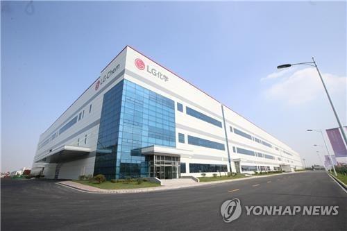 LG化学携中资在南昌建电池厂