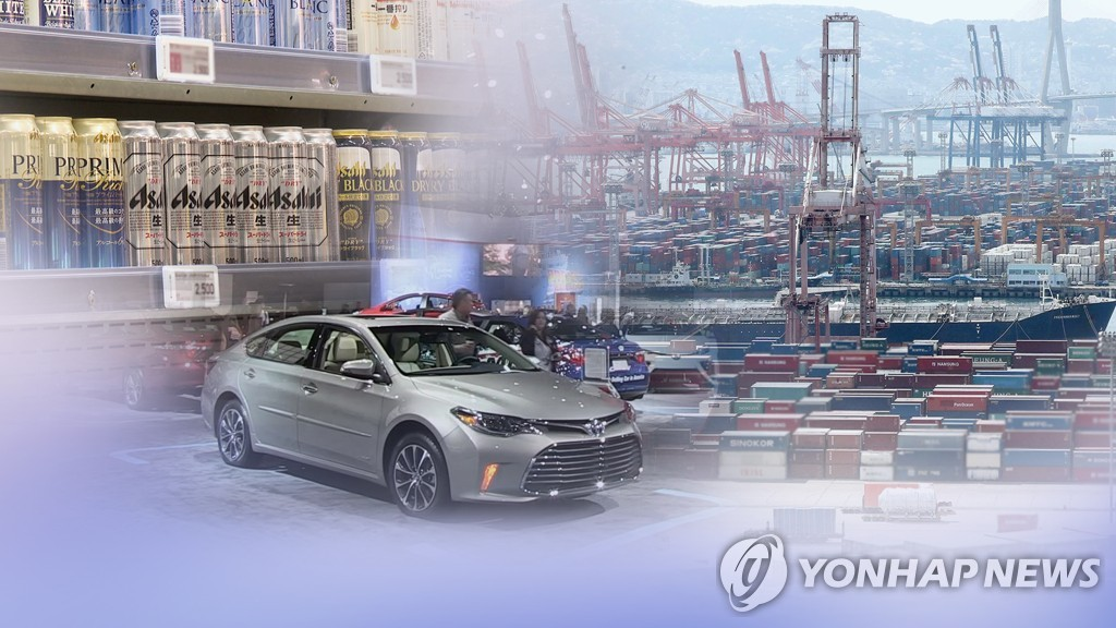 日本限贸后对韩出口比重不减反增