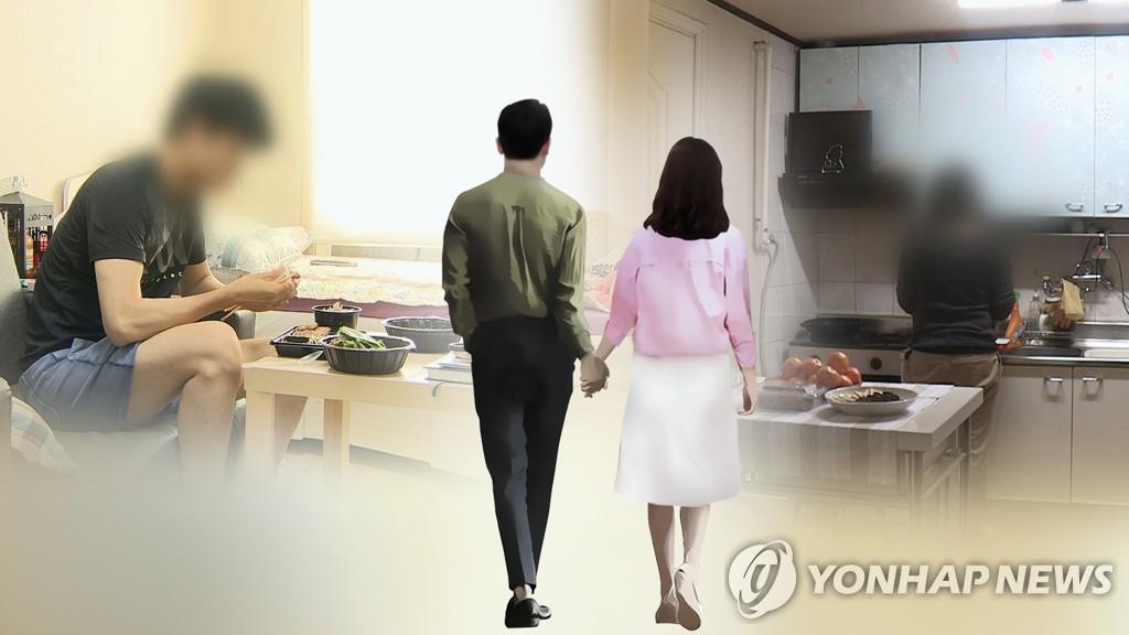 统计:韩国单人户超600万 近四成无业