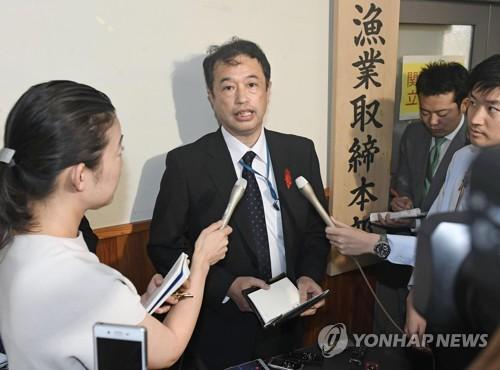 一朝鲜渔船与日本渔政船相撞沉没 10多人被救起