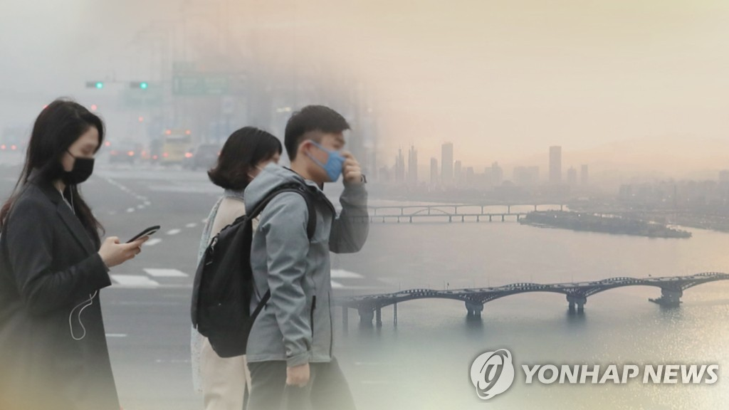 韩国雾霾季到来 或持续至明春