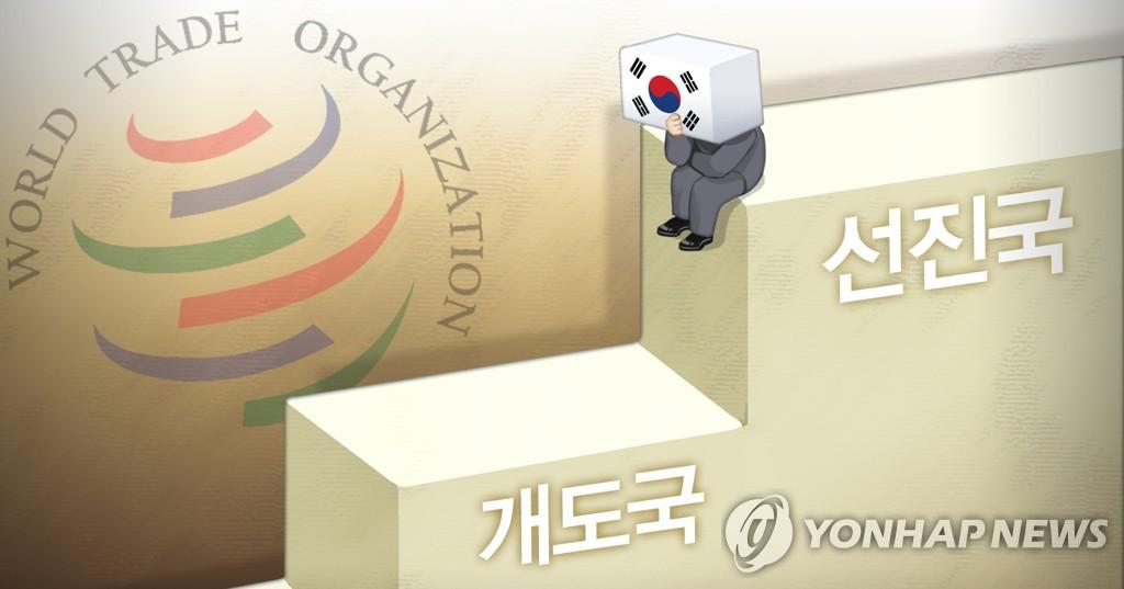 简讯:韩国决定放弃在世贸组织的发展中国家地位