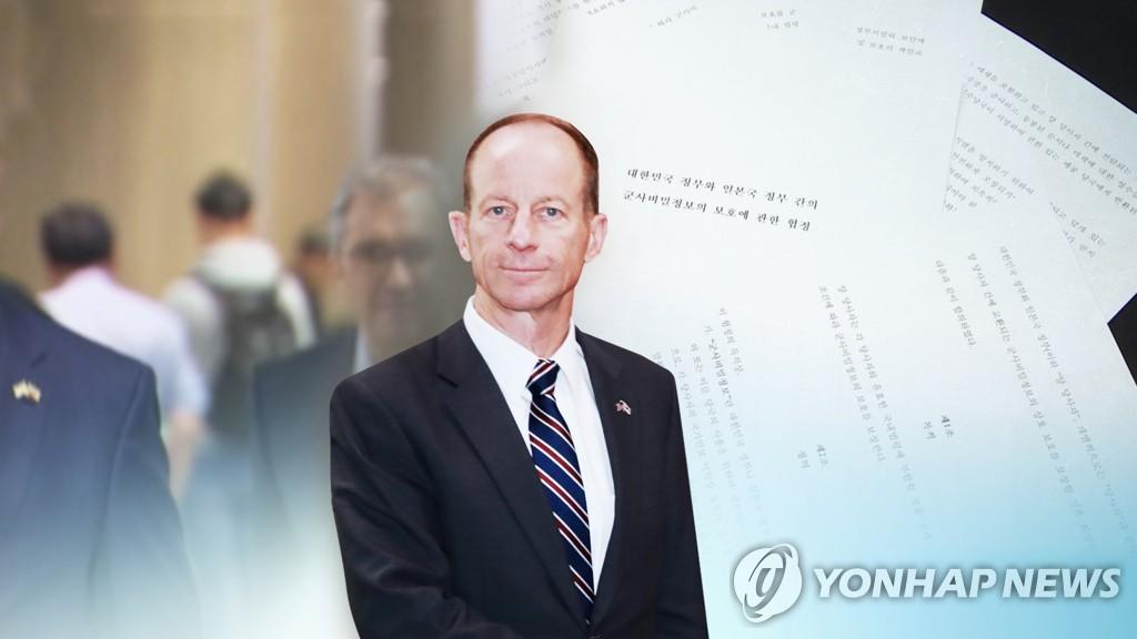资料图片:美国助理国务卿戴维·史迪威 韩联社TV供图