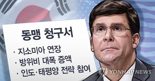 韩国防部呼应美防长调整联演促与朝对话言论