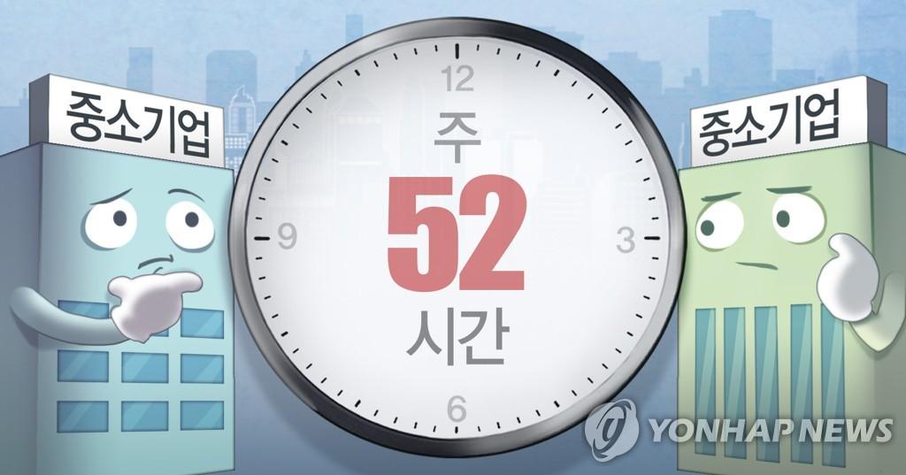 韩政府将不为小微企业实施新工时制设过渡期