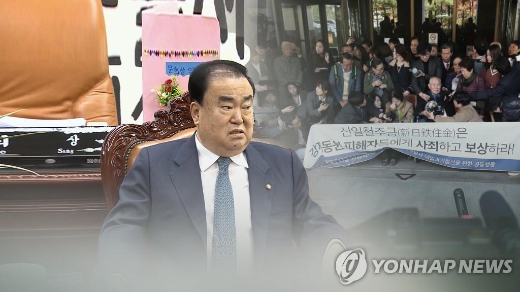 韩国会议长对日索赔法案或不包括慰安妇