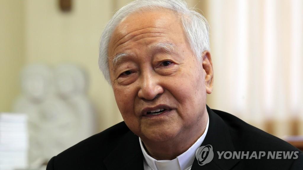 教皇祝贺枢机主教郑镇奭晋铎50周年金庆