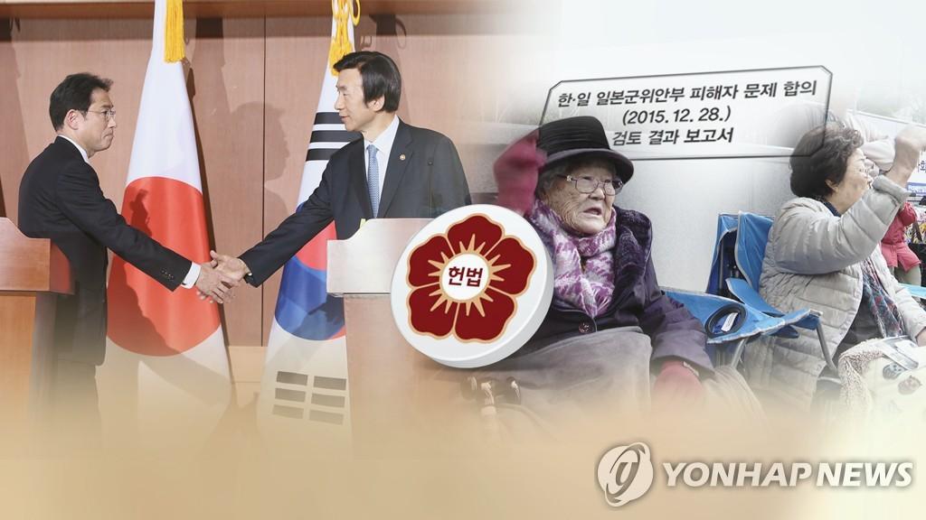 韩日慰安妇问题协议违宪审查今下结论