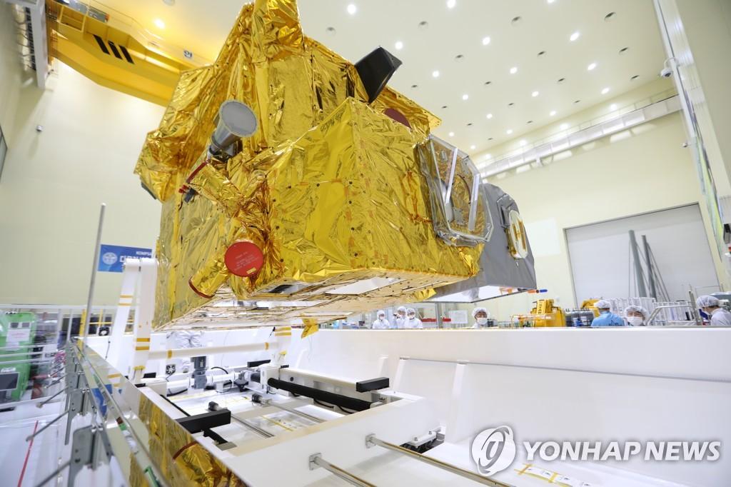 """韩国环境卫星""""千里眼2B""""号下月发射升空"""