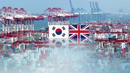 韩英双边贸易额上半年同比增四成