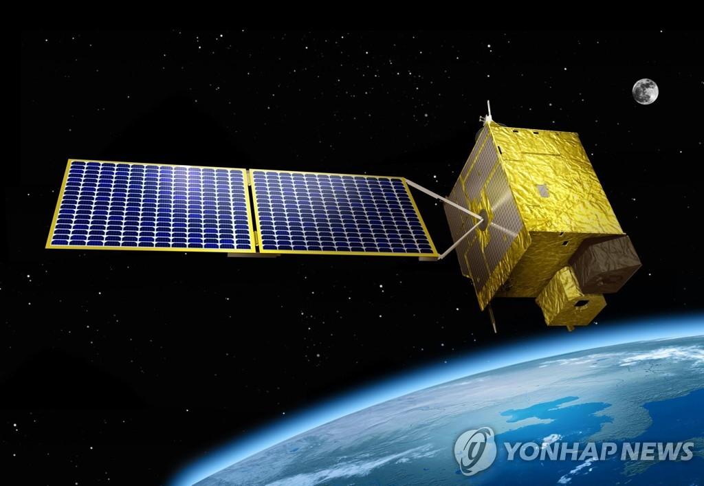 """韩国环境卫星""""千里眼2B""""号明日发射升空"""