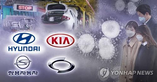 详讯:韩国五大整车厂商5月销量同比减近四成