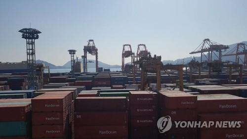 韩2月前10天出口同比增69.4% 日均减3.2%