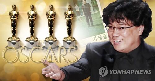 朝媒报道《寄生虫》获奥斯卡奖消息