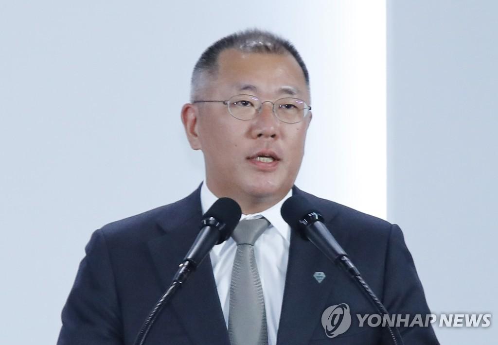 消息:郑义宣明日正式升任现代汽车集团会长