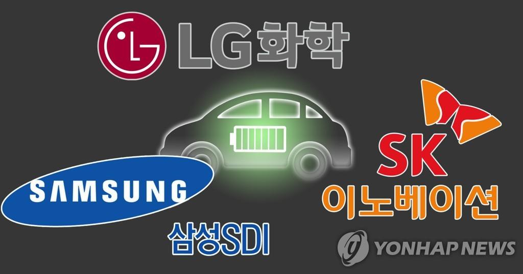 韩国三大动力电池厂商2月全球市占率破40%