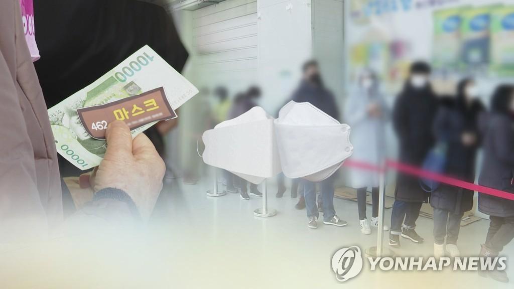 韩5月起放宽居民向国外亲友寄口罩上限