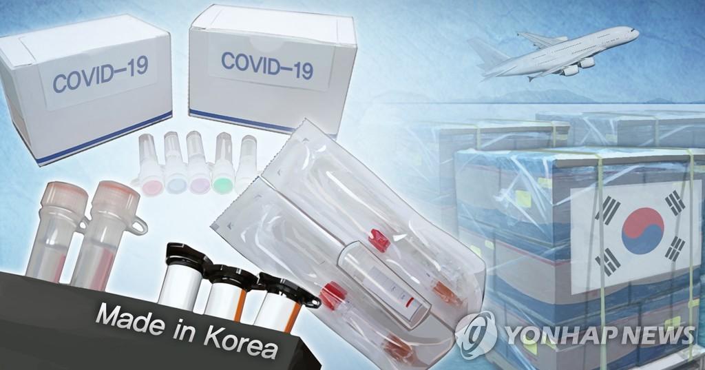 韩国向110多国出口5646万份新冠试剂盒 - 1
